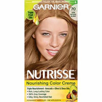 4 Pack Garnier Nutrisse Nourishing Color Creme 70 Dark Natural Blonde 1 Each