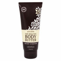 The Healthy Body Butter Instant Hydration Pure Vanilla - 6.7 oz. by Lavanila (pack of 4)