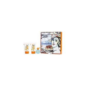 I LOVE LOVE by Moschino - EDT .16 OZ MINI & BODY LOTION .8 OZ & SHOWER GEL .8 OZ - WOMEN