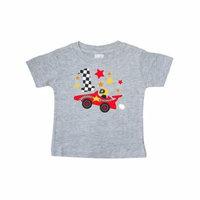 Happy 1st Birthday red racing car Baby T-Shirt