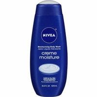 4 Pack - Nivea Creme Moisture Moisturizing Body Wash 16.9 oz