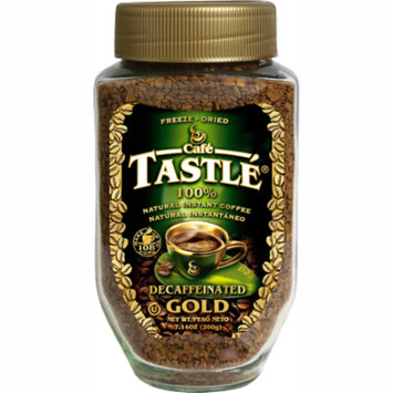 Cafe Tastle Gold Decaffeinated Freeze-Dried Instant Coffee, 7.14 oz