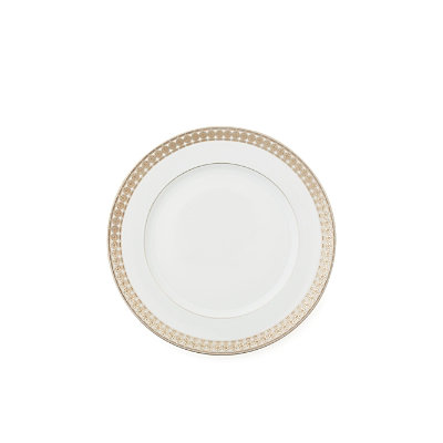 Haviland Eternity Blanc Dessert Plate
