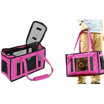 Comfortable And Stylish Airline Approved Portable Soft-Sided Air Travel Pet Carrier-Pink