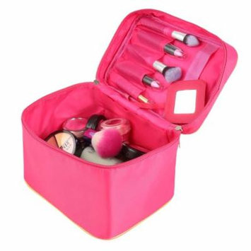 Portable Travel Cosmetic Organizer Foldable Makeup Bag Toiletry Storage Case RYSTE