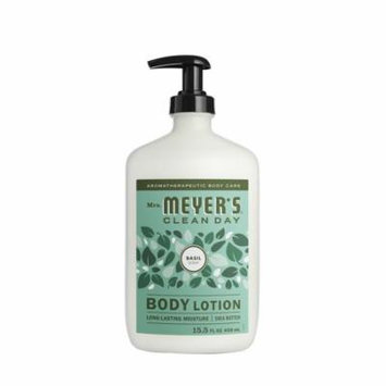Mrs. Meyer's Clean Day Body Lotion, Basil, 15.5 Ounces