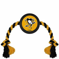 Pittsburgh Penguins Hockey Puck Dog Toy - No Size