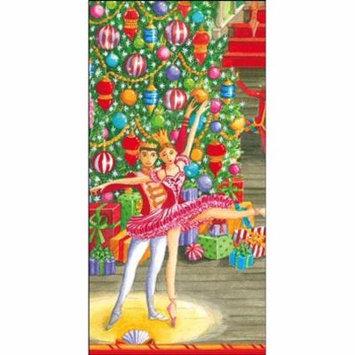 Paper Facial Tissues Christmas Ballet Hankies 13430M