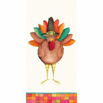 Fall Thanksgiving Paper Facial Tissues Turkey Hankies 10pk