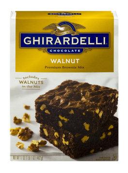 Ghirardelli Chocolate Walnut Premium Brownie Mix