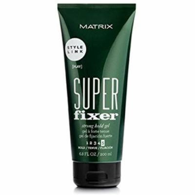 2 Pack - Matrix Style Link Super Fixer Strong Hold Gel for Unisex 6.8 oz