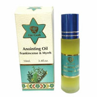 Frankincense and Myrrh anointing Oil from Ein Gedi in its new Roll-On glass bottle - Anointing oil - 10ml ( 0.34 fl. oz.