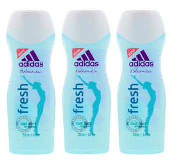 Adidas for Women Fresh Hydrating Shower Gel 8.4 fl oz. (Pack of 3)