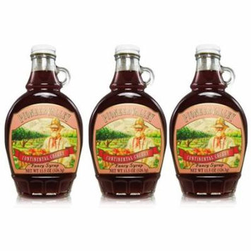 Pioneer Valley Gourmet Continental Cherry Fancy Syrup 11.5 oz. - 3 pack