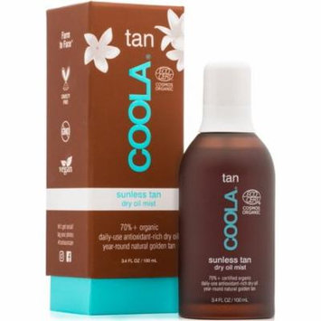 4 Pack - Coola Sunless Tan Dry Oil Mist 3.4 oz