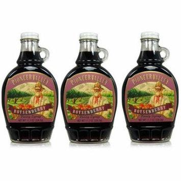 Pioneer Valley Gourmet Boysenberry Fancy Syrup 11.5 oz. - 3 pack