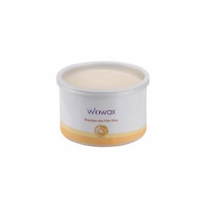 WOWAX Brazilian Wax, Stripless Hard Wax Hair Removal Wax for Whole Body and Sensitive Skin, 14 oz
