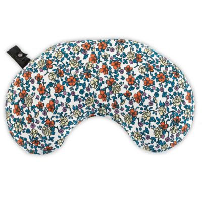 Bucky Minnie Multicolor Fabric Compact Ditsy Neck Pillow with Snap & Go