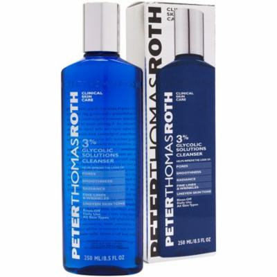 Peter Thomas Roth 3% Glycolic Solutions Cleanser 8.5 oz - New in Box