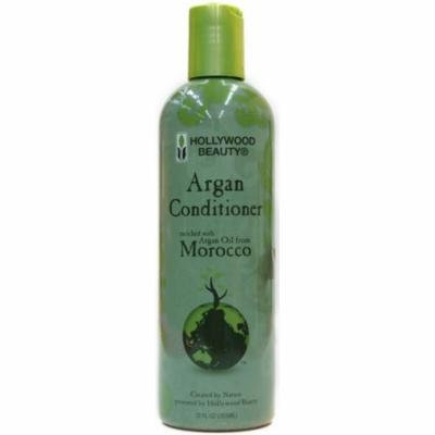 Hollywood Beauty Argan Conditioner, 12 oz (Pack of 2)