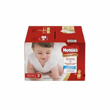 Huggies Little Snugglers Baby Diapers, Size 3, 162 Count, Economy Pack