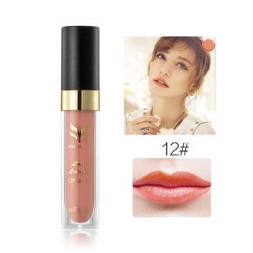 12 Color Hydrating Velvet Waterproof Matte Lip Gloss Combination 3/6pcs Set