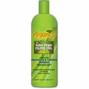 Arganics Neutral & Claifying Shampoo 8 oz. (Pack of 6)