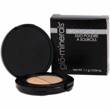 Glo Minerals Brow Powder Duo Taupe - New in Box