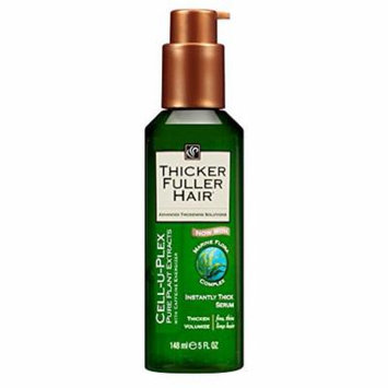 Thicker Fuller Hair Instantly Thick Serum 5 oz. Cell-U-Plex (3 Pack)