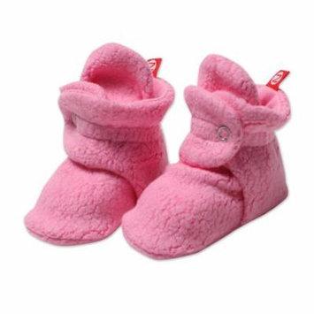 Zutano Baby Cozie Booties Hot Pink