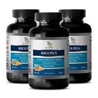 Woman sexual health - MACA PLUS - Maca root vitamins for women - 3 Bottle 180 Tablets