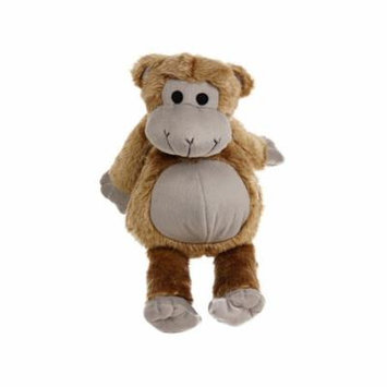 giant stuffed monkey dog toy with grunt sound in brown 15