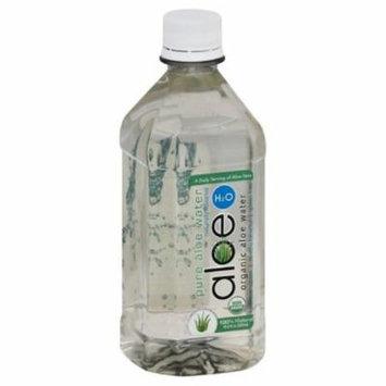 Aloe H2O Pure Organic Aloe Water, 16.9 Oz (Pack of 12)