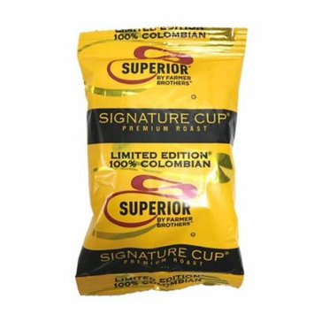 Superior LE 100% Colombian Ground Coffee (42 bags/2 oz)