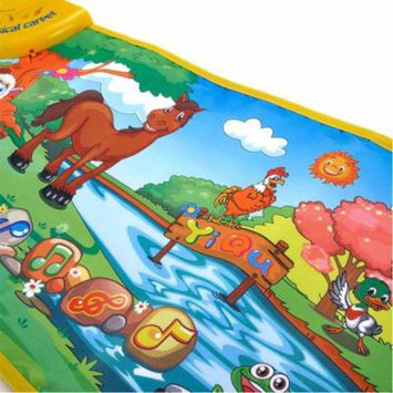 Womail Hot Kids Baby Zoo Animal Musical Touch Play Singing Carpet Mat Toy