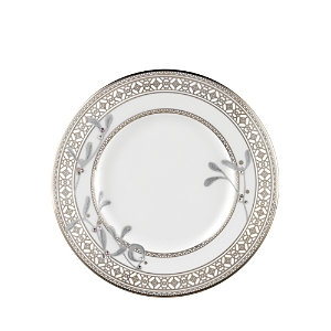 Prouna Platinum Leaves Bread & Butter Plate