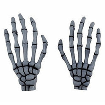 Bluelans 1 Pair New Fashion Skeleton Hand Bone Hair Clips