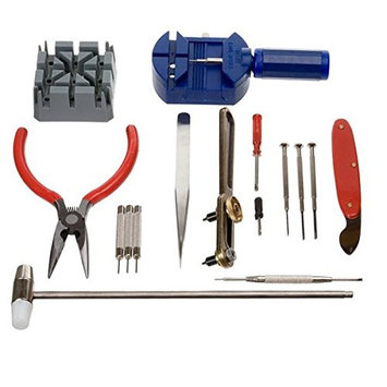 16 Pieces Pc Watch Repair Kit Set Pin Strap Remover Opener Battery Change Tool, Ship from USA,Brand lucky-solo