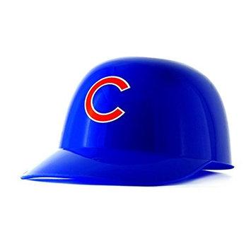 Sugar Free Gummy Bears in a Chicago Cubs Mini Baseball Batting Helmet MLB Diabetic Candy and diabetic friendly