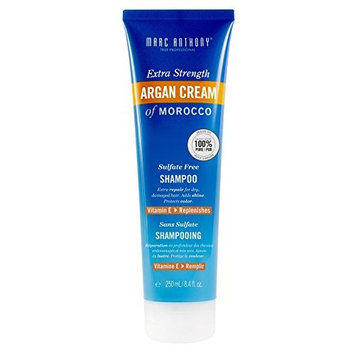 Marc Anthony Argan Cream Shampoo 8.4 Ounce Extra-Strength (250ml) (2 Pack)
