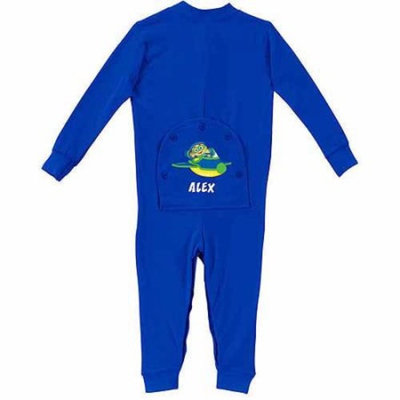 Personalized Super Why! Why Flyer Toddler Boy Royal Blue Playwear