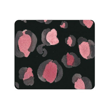 Centon Electronics OTM Artist Prints Black Mouse Pad, Spotted Berry - Spotted Berry - Black - Rubber Base - Slip Resistant