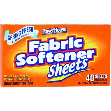 Power House Fabric Softener Sheets Pack of 40