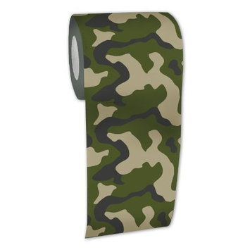 Big Mouth Toys Camouflage Toilet Paper [Camouflage]