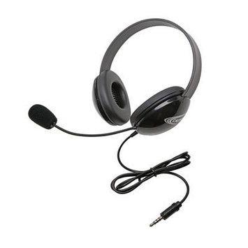 Califone International, Inc. Califone International 2800TBK Listening First To Go Headset - Black