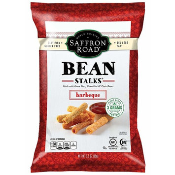 Saffron Road Bean Stalks, Gluten-Free, Barbeque, 3.5 Ounce (Pack of 12)