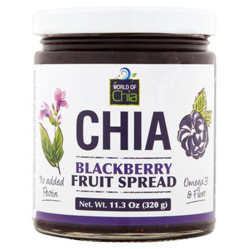 Space Enterprises Llc World Of Chia, Spread Chia Blackberry, 11.3 Oz (Pack Of 6)