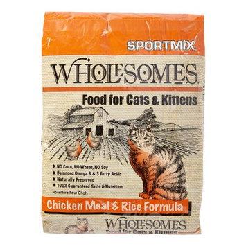 Sportmix Wholesomes Cat Food Size: 15 Pound.