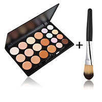 Fenical 20 Colors Makeup Concealer Palette with Brush