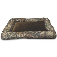 True Timber Camo Bolster Dog Pet Crate Mat